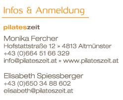 pilateszeit.at Monika Fercher Pilates Altmünster Gmunden